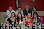 Fitzgerald's Rest. NYE: Celebrating the New Year at Fitzgerald s Restaurant, Listowel are front: Elaine Brew, Siobhan Nash, Mairead Kennelly & Betty Sullivan. Back: Brendan Brew, Tom Greene, Ger Horgan & Trish Naughton.