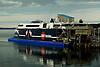 Bay Ferries docked in Seattle Washington