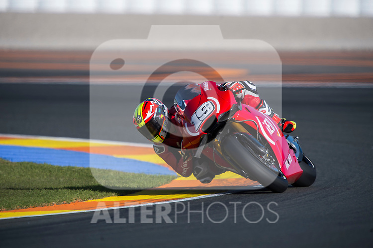 VALENCIA, SPAIN - NOVEMBER 11: Alvaro Bautista during Valencia MotoGP 2016 at Ricardo Tormo Circuit on November 11, 2016 in Valencia, Spain