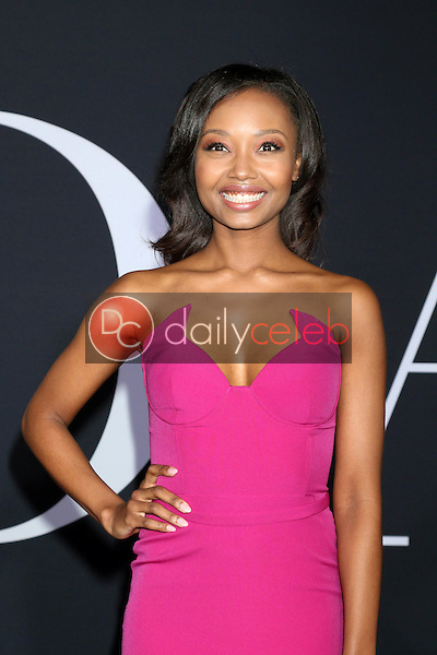 """Ashleigh LaThrop<br /> at the """"Fifty Shades Darker"""" World Premiere, The Theater at Ace Hotel, Los Angeles, CA 02-02-17<br /> David Edwards/DailyCeleb.com 818-249-4998"""