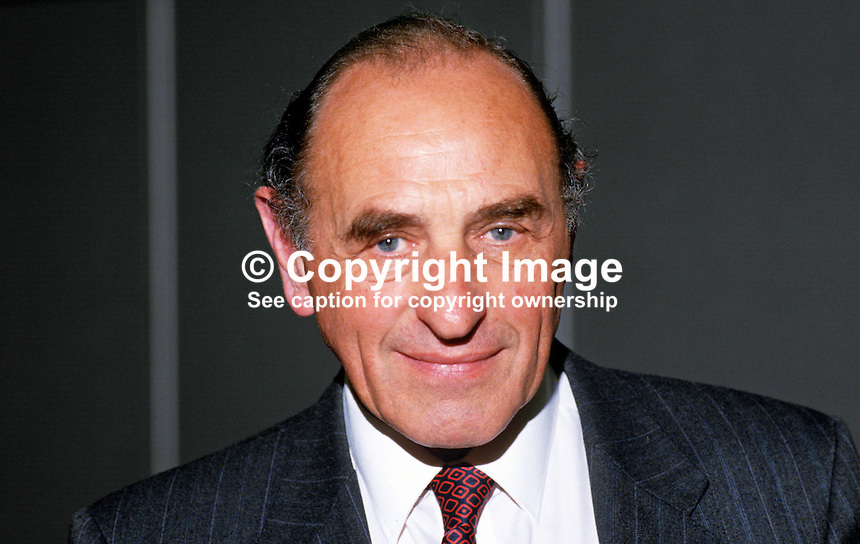 Robert Sheldon, MP, Labour Party, UK, 19870920RS.<br />