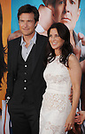 "WESTWOOD, CA - AUGUST 01: Jason Bateman and Amanda Anka attend ""The Change-Up"" Los Angeles Premiere at Regency Village Theatre on August 1, 2011 in Westwood, California."