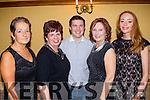 Borrow from Santa<br /> -------------------------<br /> Tralee Credit Union staff had a fab night in Meadowlands hotel, Tralee for their Christmas party last Saturday, L-R Christine Fitzgerald, Kim Heffernan, adam Twomey, Phyllis Healy and Emer O'Connor.