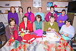 The art of Knitting is still alive and well in South Kerry, classes organised by the Foilmore/Kells women's group gather every week at Kells Station House for lessons given by Eileen O'Shea, the group pictured her front l-r; Kitty Keating, Helen O'Sullivan, Eileen O'Shea(tutor), Cait Coffey, Maureen O'Connor, back l-r; Cindy Reardon, Anne Houlihan, Mary O'Neill-McDonnell, Bridie Wells, Dora O'Reilly & Mary O'Connor...Ref Sinead - Story