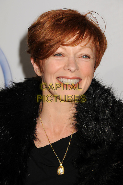 FRANCES FISHER .20th Annual Producers Guild Awards at The Hollywood Palladium, Hollywood, California, USA..January 24th, 2009.headshot portrait black necklace black fur trim.CAP/ADM/BP.©Byron Purvis/AdMedia/Capital Pictures.