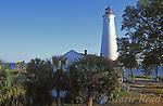 St. Marks Lighthouse, St. Marks National Wildlife Refuge, Florida, USA<br /> Slide # SFL-20