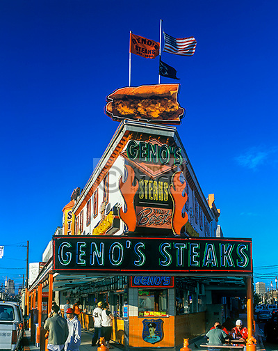 GENOS STEAKS SOUTH 9TH STREET PHILADELPHIA PENNSYLVANIA USA