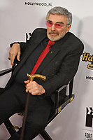 HOLLYWOOD FL - NOVEMBER 03: Burt Reynolds at The Fort Lauderdale International Film Festival at the Seminole Hard Rock Hotel & Casino on November 3, 2017 in Hollywood, Florida. Credit: mpi04/MediaPunch