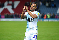 Blackburn Rovers' Elliott Bennett at the end of todays match<br /> <br /> Photographer Rachel Holborn/CameraSport<br /> <br /> The EFL Sky Bet Championship - Blackburn Rovers v Aston Villa - Saturday 15th September 2018 - Ewood Park - Blackburn<br /> <br /> World Copyright &copy; 2018 CameraSport. All rights reserved. 43 Linden Ave. Countesthorpe. Leicester. England. LE8 5PG - Tel: +44 (0) 116 277 4147 - admin@camerasport.com - www.camerasport.com