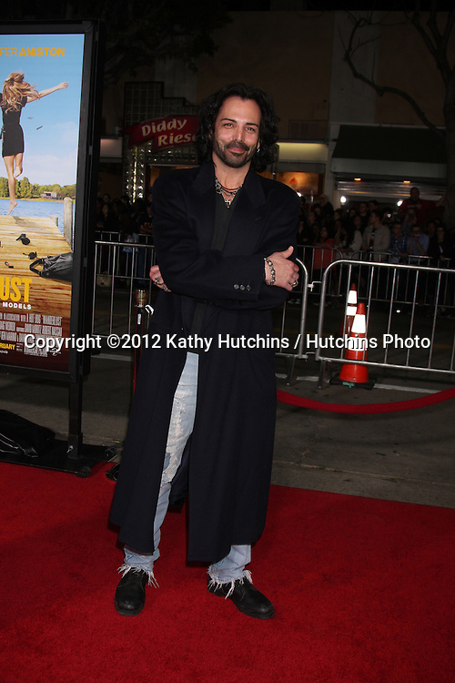 """LOS ANGELES - FEB 16:  Richard Greico arrives at the """"Wanderlust"""" World Premiere at the Village Theater on February 16, 2012 in Westwood, CA"""