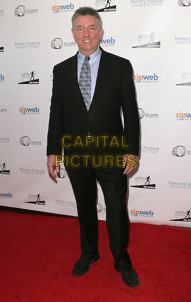 FRAZIER SMITH .'Bed Ridden' Los Angeles Premiere to Benefit the Claire Foundation held at The Wilshire Fine Arts Theater, Beverly Hills, CA, USA, .25th April 2009..full length black suit tie blue shirt .CAP/ADM/TC.©T. Conrad//Admedia/Capital Pictures