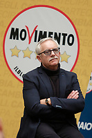 Maurizio Angeloni<br /> <br /> Roma 29/01/2018. Presentazione dei candidati nelle liste uninominali del Movimento 5 Stelle.<br /> Rome January 29th 2018. Presentation of the candidates for Movement 5 Stars.<br /> Foto Samantha Zucchi Insidefoto
