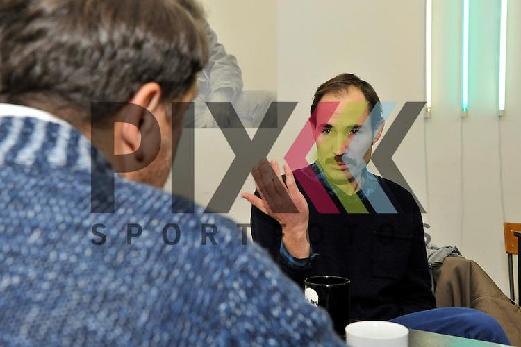 Mannheim 09.01.17 Jan-Philipp Possmann beim Interview im Zeitraumexit.<br /> <br /> Foto &copy; Ruffler For editorial use only. (Bild ist honorarpflichtig - No Model Release!)