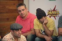 SAO PAULO, 27 DE MARÇO DE 2012. ENTREVISTA COLETIVA PROGRAMA PANICO . entrevista coletiva do programa Panico na Tv que estreia na TV Band no dia 01 de abril.  . FOTO: ADRIANA SPACA - BRAZIL PHOTO PRESS