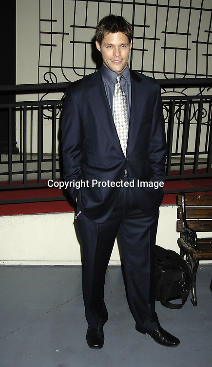 Justin Bruening of All My Children ..at ABC Casino Night on October 27, 2005 at The Lighthouse at Chelsea Piers. ..Photo by Robin Platzer, Twin Images