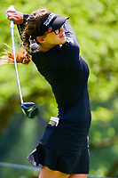 Belen Mozo (ESP) watches her tee shot on 17 during Thursday's round 1 of the 2017 KPMG Women's PGA Championship, at Olympia Fields Country Club, Olympia Fields, Illinois. 6/29/2017.<br /> Picture: Golffile | Ken Murray<br /> <br /> <br /> All photo usage must carry mandatory copyright credit (&copy; Golffile | Ken Murray)