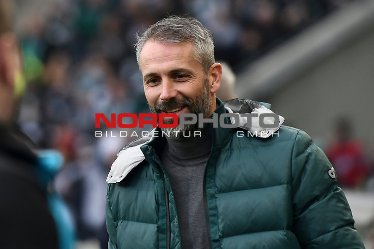 01.12.2019, Borussia-Park - Stadion, Moenchengladbach, GER, DFL, 1. BL, Borussia Moenchengladbach vs. SC Freiburg, DFL regulations prohibit any use of photographs as image sequences and/or quasi-video<br /> <br /> im Bild Marco Rose (Borussia Moenchengladbach) Portrait, Halbportrait, Bild, Einzel, Einzelaufnahme, picture, single, solo, alleine <br /> <br /> Foto © nordphoto/Mauelshagen