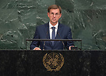 72 General Debate – 20 September <br /> <br /> His Excellency Miro Cerar, Prime Minister of the Republic of Slovenia