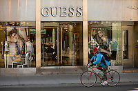 A Guess store is pictured in Toronto April 19, 2010.