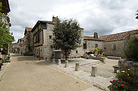 The pretty hill village of Pujol-en-Haut in Lot-et-Garonne is officially one of France's hundred most beautiful vjllages.