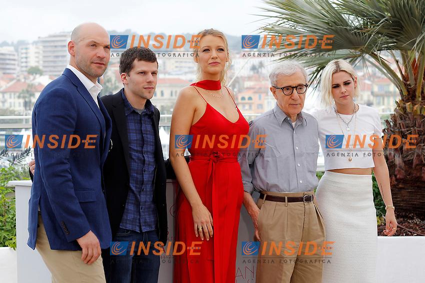 Corey Stoll, Jesse Eisenberg, Blake Lively, Woody Allen, Kristen Stewart<br /> Festival di Cannes 2016 <br /> Foto Panoramic / Insidefoto
