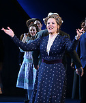 Renee Fleming during the Opening Night Curtain Call for 'Carousel' at the Imperial Theatre on April 12, 2018 in New York City.