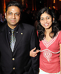 Madhav and Priyanka Kulkarni at the Do You Believe in Magic Gala at the Houston Museum of Natural Science Saturday March 6,2010. (Dave Rossman Photo)