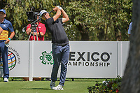 Alex Noren (SWE) watches his tee shot on 13 during round 1 of the World Golf Championships, Mexico, Club De Golf Chapultepec, Mexico City, Mexico. 3/1/2018.<br /> Picture: Golffile | Ken Murray<br /> <br /> <br /> All photo usage must carry mandatory copyright credit (&copy; Golffile | Ken Murray)