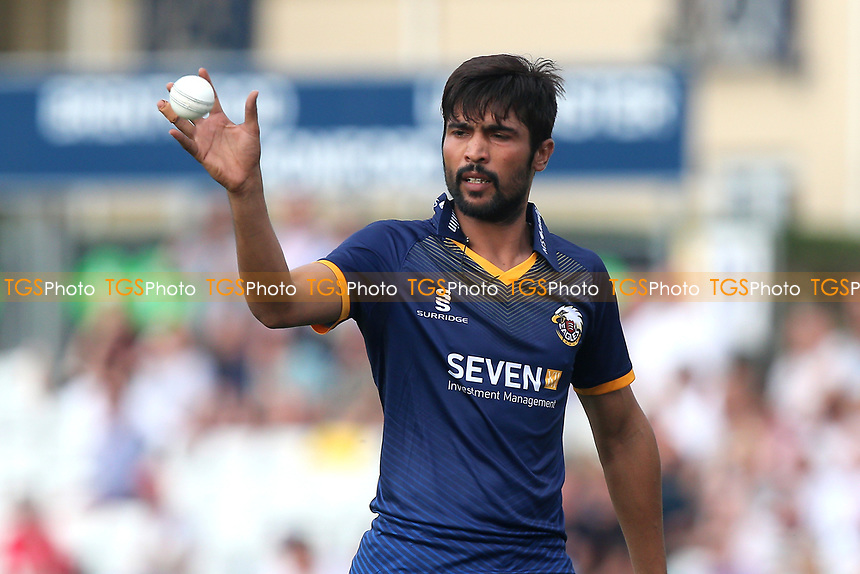 Mohammad Amir of Essex during Essex Eagles vs Surrey, NatWest T20 Blast Cricket at The Cloudfm County Ground on 7th July 2017