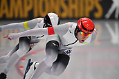 7th February 2019, Max Aicher Arena, Inzell, Germany;  World speed skating championships; Nico IHLE, Joel DUFTER Team Sprint