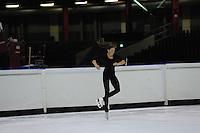 KUNSTSCHAATSEN: HEERENVEEN: IJsstadion Thialf, 14-08-2013, Seminar kunstrijden 'Go for Gold' met Belgische kunstschaatser Kevin van der Perren, ©foto Martin de Jong