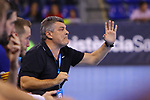 VELUX EHF 2019/20 EHF Men's Champions League Group Phase - Round 8.<br /> FC Barcelona vs Aalborg Handbold: 44-35.<br /> Xavi Pascual.