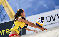19th July 2020; Dusselldorf, Germany; Comdirect beach volleyball tour;  Chantal Laboureur