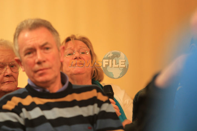 Public Meeting in the West Court Hotel by the Anti-Austerity Measures Action Group..Picture www.newsfile.ie
