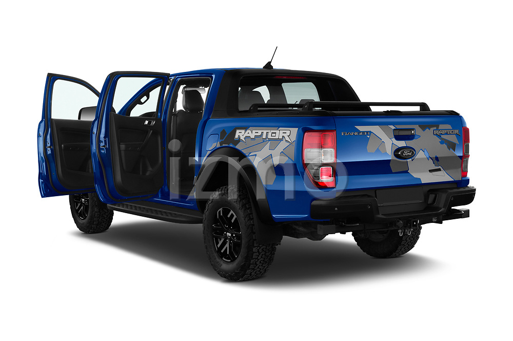 Car images of 2019 Ford Ranger-Raptor - 4 Door Pick-up Doors