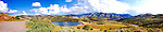 Utah panorama, Little Dell Reservoir, Wasatch Mountains