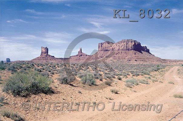 Interlitho, LANDSCAPES, photos, monument valley(KL8032,#L#)