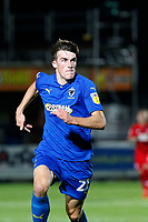 Ryan Delaney of AFC Wimbledon running during the The Leasing.com Trophy match between AFC Wimbledon and Leyton Orient at the Cherry Red Records Stadium, Kingston, England on 8 October 2019. Photo by Carlton Myrie / PRiME Media Images.