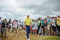 Jordan Spieth (USA) makes his way to the 7th tee during Saturday's round 3 of the 117th U.S. Open, at Erin Hills, Erin, Wisconsin. 6/17/2017.<br /> Picture: Golffile | Ken Murray<br /> <br /> <br /> All photo usage must carry mandatory copyright credit (&copy; Golffile | Ken Murray)