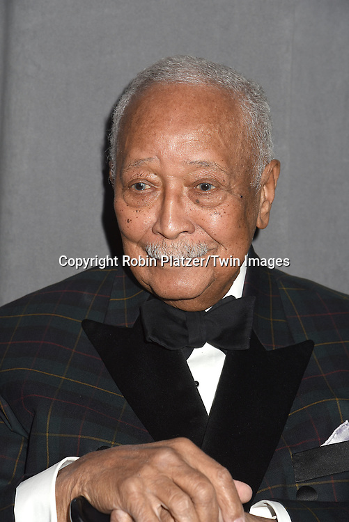 Honoree Mayor David Dinkins attends The New Jewish Home Gala Honoring 8 Over 80 on March 12, 2018 at the Ziegfeld Ballroom in New York, New York, USA.<br /> <br /> photo by Robin Platzer/Twin Images<br />  <br /> phone number 212-935-0770
