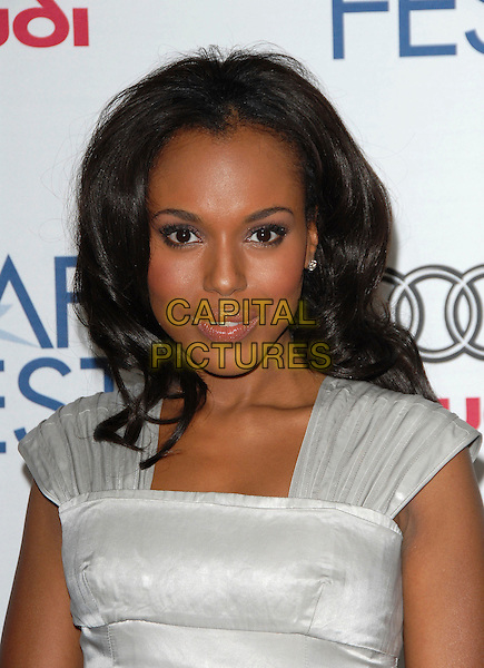 "KERRY WASHINGTON.Attends AFI Film Fest Screening of ""The Dead Girl"" held at The Arclight Rooftop, The Loft, Hollywood, LA,.California, USA, November 07, 2006..portrait headshot.Ref: DVS.www.capitalpictures.com.sales@capitalpictures.com.©Debbie VanStory/Capital Pictures"