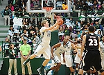 Tulane defeats University of Nebraska-Omaha, 76-52, in men's basketball at Devlin Fieldhouse.