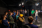 March 16, 2020; ND Studios Student Employee Training Showcase (Photo by Peter Ringenberg/University of Notre Dame)