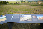 Durrington Walls neolithic settlement site, Amesbury, Wiltshire, England, UK