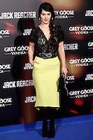 Sara Vega attends the 'Jack Reacher' premiere at the Callao cinema in Madrid, Spain. December 13, 2012. (ALTERPHOTOS/Caro Marin) /NortePhoto