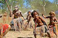 Lockhart River Dancers 4,  Laura Aboriginal Dance Festival, Laura, Cape York Peninsula, Queensland, Australia.