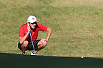 31 October 2016: Liberty University's Payton Taylor. The Third Round of the 2016 Bridgestone Golf Collegiate NCAA Men's Golf Tournament hosted by the University of North Carolina Greensboro Spartans was held on the West Course at the Grandover Resort in Greensboro, North Carolina.