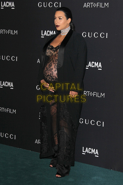 LOS ANGELES, CA - NOVEMBER 7: Kim Kardashian West at the LACMA Art + Film Gala honoring Alejandro G. I&ntilde;&aacute;rritu and James Turrell and presented by Gucci at LACMA on November 7, 2015 in Los Angeles, California. <br /> CAP/MPI27<br /> &copy;MPI27/Capital Pictures