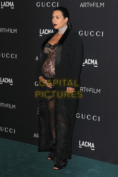 LOS ANGELES, CA - NOVEMBER 7: Kim Kardashian West at the LACMA Art + Film Gala honoring Alejandro G. I&ntilde;&aacute;rritu and James Turrell and presented by Gucci at LACMA on November 7, 2015 in Los Angeles, California. <br /> CAP/MPI27<br /> &copy;MPI27/Capital Pictures