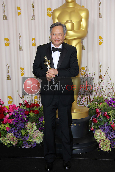 Ang Lee<br /> at the 85th Annual Academy Awards Press Room, Dolby Theater, Hollywood, CA 02-24-13<br /> David Edwards/DailyCeleb.com 818-249-4998